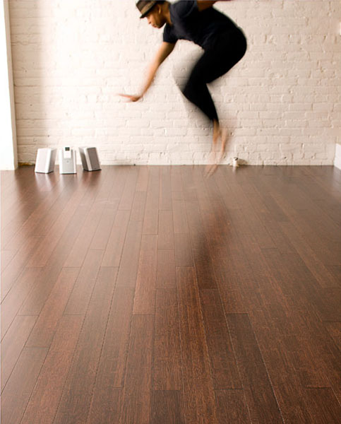 floor, dance, stereo, man, dancer, ipod, white brick wall