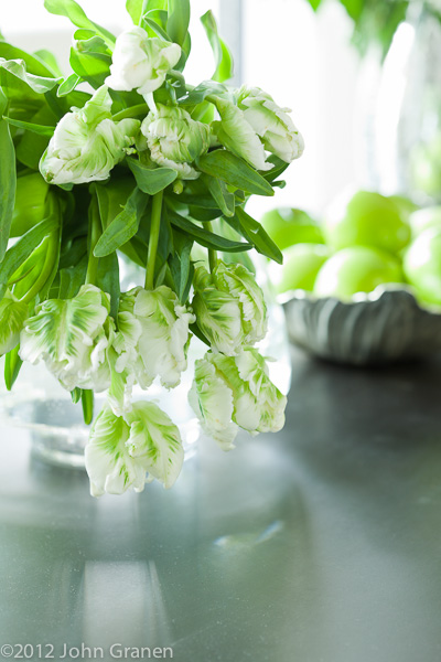 Kitchen, floral, table top, architectural photographer, interior photographer